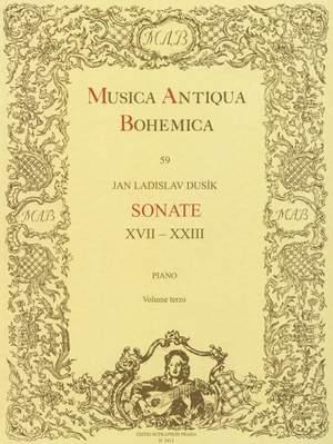Dusik, J: Piano Sonatas, Vol.3 (Nos.17-23)