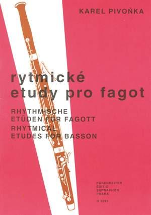 Pivonka, Karel: Rhythmical Etudes / Studies For Bassoon