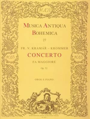 Krommer, František: Konzert für Oboe und Orchester F-Dur op. 52