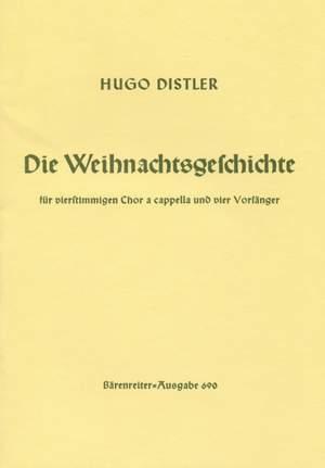 Distler, H: Christmas Story, Op.10 (G)