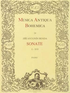 Benda, Jirí Antonín: Sonaten I-XVI