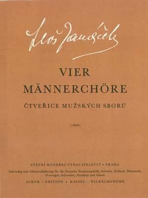 Janacek, L: Four Male Choruses (Cz)