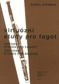 Pivonka, K: Virtuoso Studies Bassoon