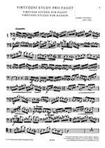 Pivonka, K: Virtuoso Studies Bassoon Product Image