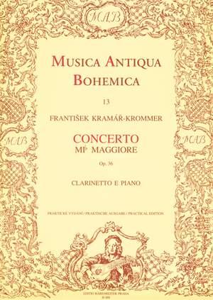 Kramar-Krommer, F: Concerto for Clarinet in E-flat, Op.36