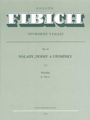 Fibich, Z: Moods, Impressions and Reminiscences, Op.41, Series 3 (Nos.86-125)