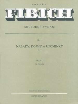 Fibich, Zdenek: Images Op41 Series II (45-85) Piano