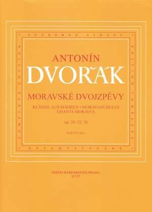 Dvorak, A: Moravian Duets, Op.20, 32, 38 (Cz-G-E)