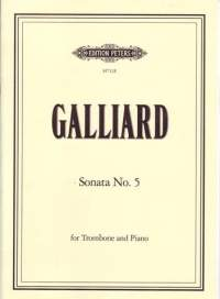 Galliard, J: Sonata No.5 in D minor
