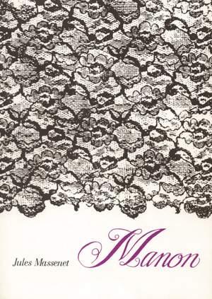 Massenet, Jules: Manon Vocal Score (German text)
