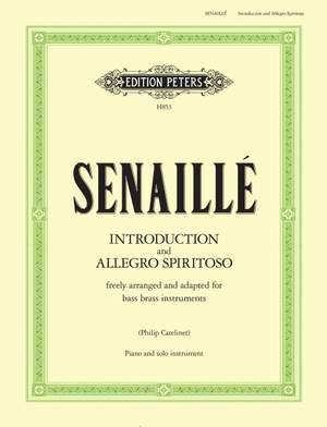 Senaille, J: Introduction and Allegro Spiritoso Product Image