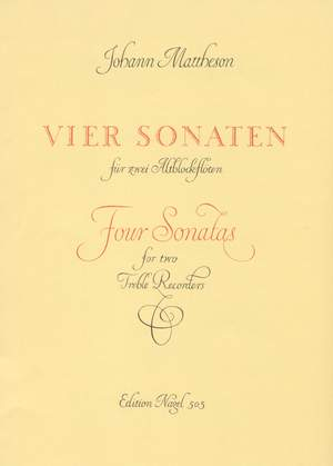 Mattheson, J: Sonatas (4), Op.1/ 1, 2, 11, 12