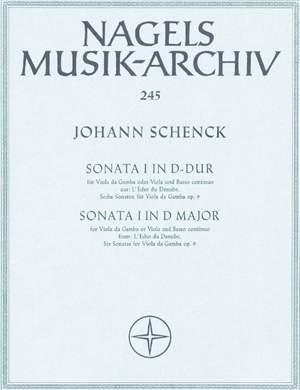 Schenck, J: Sonata in D, Op.9/ 1 from: L'Echo du Danube