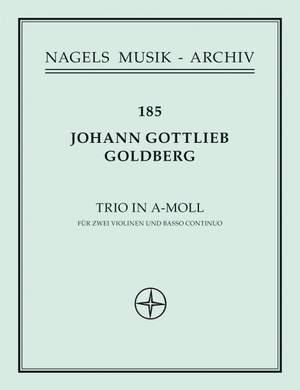 Goldberg, J: Trio in A minor (Sonata No.4)