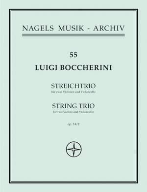 Boccherini, L: String Trio in G, Op.54/2