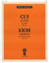Cui: Suite for Piano Op.21