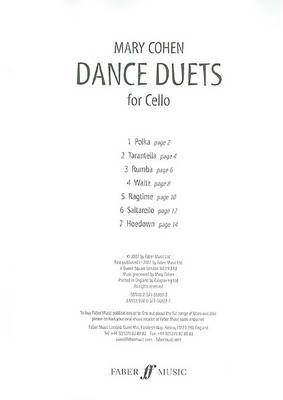 Cohen, Mary: Dance Duets (two cellos)