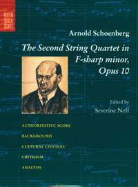 Schoenberg: Second String Quartet in F# minor Op.10