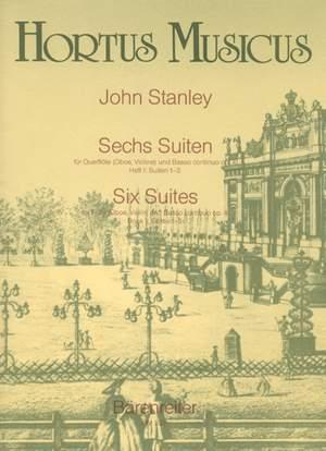 Stanley, J: Six Suites, Op.4, Vol. 1: Nos. 1 - 3