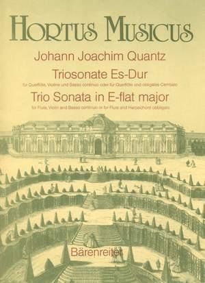 Quantz, J: Trio Sonata in E-flat