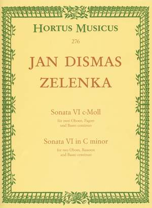 Zelenka, J: Sonata No.6 in C minor