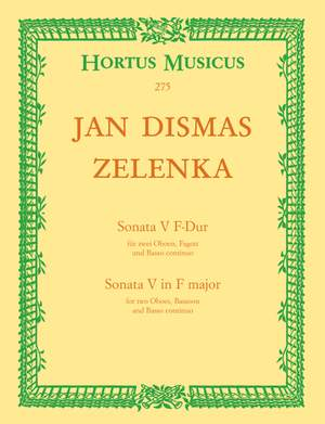 Zelenka, J: Sonata No.5 in F