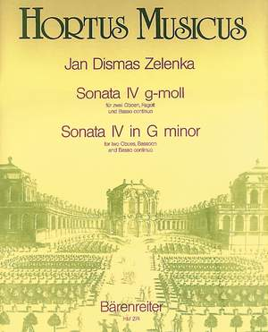 Zelenka, J: Sonata No.4 in G minor