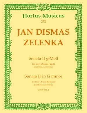 Zelenka, J: Sonata No.2 in G minor