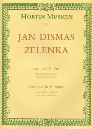 Zelenka, J: Sonata No.1 in F