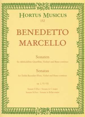 Marcello, B: Sonatas from Op.2, Vol. 3: (No.6 C maj; No.7 Bb maj) Product Image