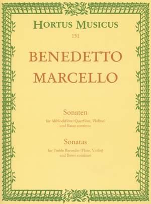Marcello, B: Sonatas from Op.2, Vol. 1: (No.1 F maj; No.2 D min) Product Image