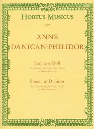 Danican-Philidor, A: Sonata in D minor