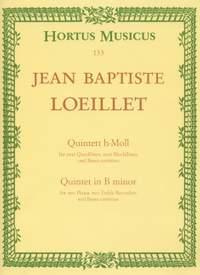 Loeillet, J: Quintet in B minor