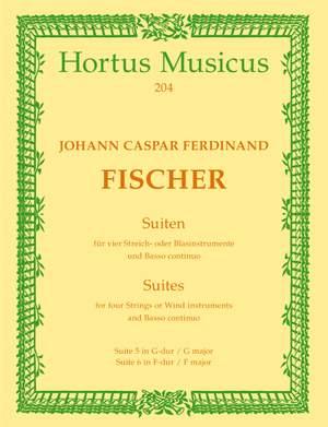 Fischer, J: Suites (2): No.5 in G, No.6 in F