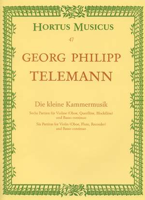 Telemann, G: Partitas (6). Little Chamber Music (TWV 41) Product Image