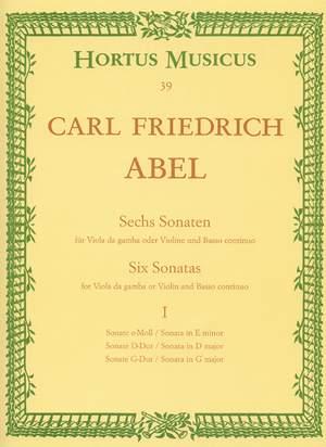 Abel, KF: Sonatas (6), Vol. 1: Nos. 3 (E min), 4 (D maj), 6 (G maj)