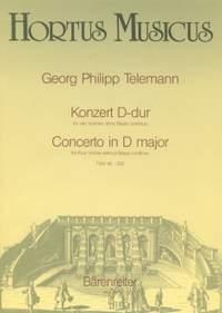 Telemann, G: Concerto for Four Violins in D (TWV 40: 202)