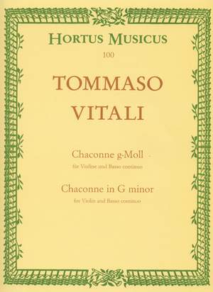 Vitali, T: Chaconne in G minor