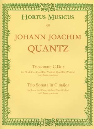 Quantz, J: Trio Sonata in C