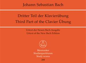 Bach, JS: Duets (4) from the Clavieruebung, Part 3 (BWV 802-805) (Urtext)