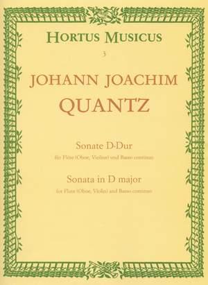 Quantz, J: Sonata in D from Fuerstenbergiana