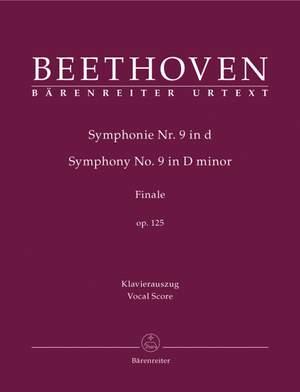 Beethoven, L van: Symphony No.9 in D minor, Op.125 (Choral) (Urtext) Product Image