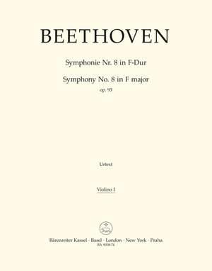Beethoven, L van: Symphony No.8 in F, Op.93 (Urtext) (ed. Del Mar)