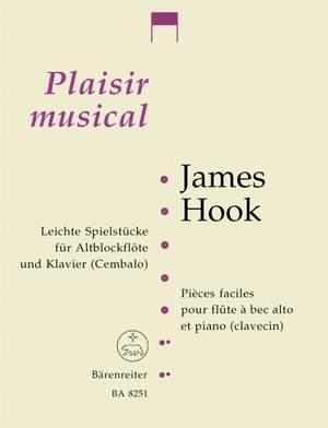 Hook, James: Easy Pieces Plaisir Mus TRec