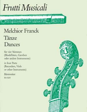 Franck, M: Dances