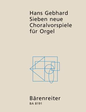 Gebhard, H: Choral Preludes (7)