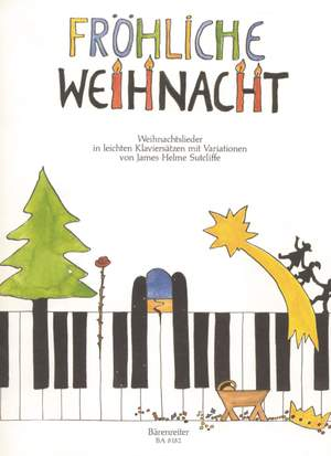 Various Composers: Froehliche Weihnacht. Easy Piano Variations on Christmas Songs