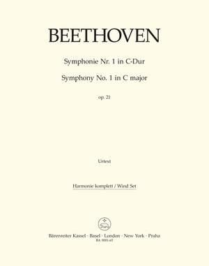 Beethoven, L van: Symphony No.1 in C, Op.21 (Urtext) (ed. Del Mar)