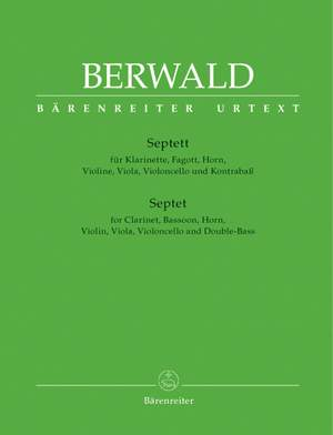 Berwald, F: Septet (Urtext)