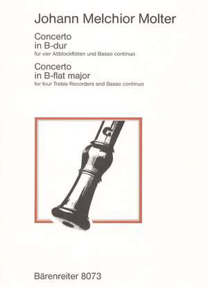 Molter, J: Concerto in B-flat